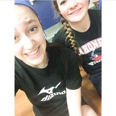 #20 #selfie of you at practice: Anna and I at the last Sunday club practice before the Chanpionships!