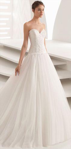 Rosa Clara Fall 2018 Romantic princess gown