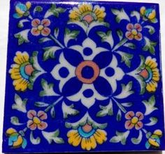 For Buying Blue Pottery Designer Tiles, Contact to Shivkripa bluepottery. CALL US: 9928943322