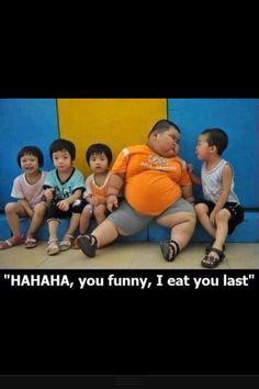Funny Heavy Set Asian Kid