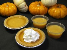 This is a JELLO SHOT- not pumpkin pie.....best site ever for jello shots!!!