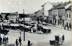 Kolozsvár:Széchenyi tér és Szechenyi Square and Market. Romania, Budapest, The Past, Louvre, Street View, Building, Travel, Life, Postcards