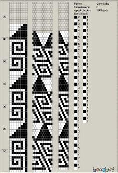 loom beading patterns Source by miskocarneim Bead Crochet Patterns, Bead Crochet Rope, Beaded Jewelry Patterns, Beading Patterns, Beaded Crochet, Bracelet Patterns, Seed Bead Tutorials, Beading Tutorials, Motifs Perler