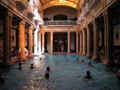 Gellért Baths -- Budapest, Hungary
