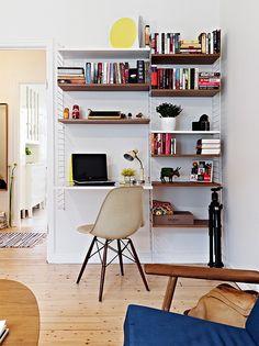 1000 images about bureau on pinterest bureaus string shelf and deco - Amenager petit espace ...