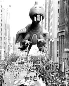 Vintage 1960, Happy Dragon, Macy's Thanksgiving Day Parade, NYC, www.RevWill.com