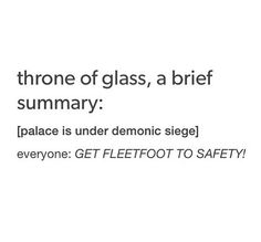 Throne of glass summary