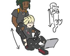 Gladion is just a kitty cat