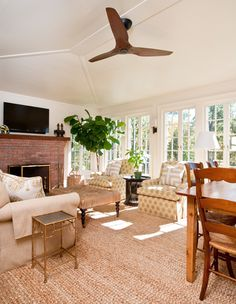 Sunroom - Colonial Farmhouse, Millbrook, NY
