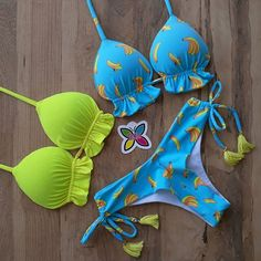 Summer Bikinis, Cute Bikinis, Cute Lingerie, Bra Lingerie, Bralette Pattern, Modest Bikini, Bikini Outfits, Suit Accessories, Cute Bathing Suits