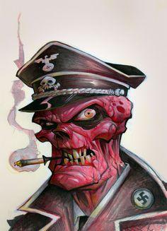 Red Skull by Brett Parson