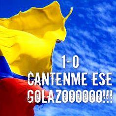 Cantenme ese golazoooo tan brutalllll!!!! #James que pepazoooo!!! #colombia #mundial #lacopadetodos #unidosporunpais #brasil2014 vamos #miseleccion!