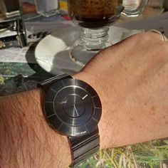 "Took my new #watch out for the first time today. At Dooey's café of course with my usual Vienna. The watch in an Issey Miyake ""TO"" designed by #Japanese #artist / #designer Tokujin Yoshioka and using a #Seiko #quartz #movement. I love this watch!!! #love #TagsForLikes @TagsForLikes #instagood #me #follow #photooftheday #tbt #followme #tagsforlikes #happy #picoftheday #instadaily #swag #amazing #TFLers #fashion #igers #fun #instalike #bestoftheday #like4like #friends #instamood"