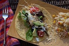 I received a boat load of delicious fish from Sizzlefish. {Thanks Sizzlefish!} So… what did I do? I made some super delicious if I say so myself fish tacos. I simply seasoned some sable fis…