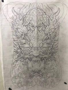 Asian Dragon Tattoo, Japanese Art, Lunges, Oriental, Tapestry, Rose, Design, Tatoo, Tattoos