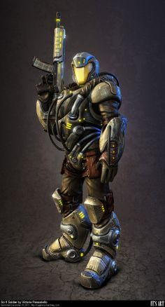 Sci fi Soldier by vitrux