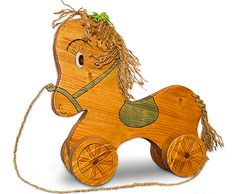 wooden horse Wooden Horse, Scooby Doo, Horses, Christmas Ornaments, Toys, Holiday Decor, Stuff To Buy, Character, Beautiful