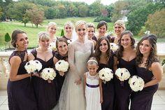 Brides: Potomac, Maryland Real Wedding Photos: A Backyard Wedding Outside of Washington, D.C.