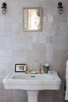 handmade tile . vintage repurpose . effortless chic