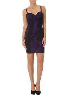 Kardashian purple lace dress  #DPKK