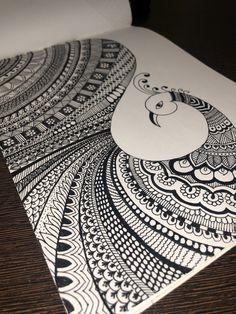 Mandala Art Therapy, Mandala Art Lesson, Mandala Artwork, Doodle Art Drawing, Mandala Drawing, Mandala Sketch, Doodle Art Designs, Art Inspiration Drawing, Indian Art Paintings