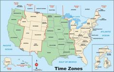 Time Zones In The United States Map.Pin By Miami Water Com On Maps Of Usa Time Zone Time Zone Map