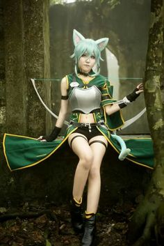 Aoi Cosplay (・◡・)ノ☆: Photo Cat Cosplay, Asian Cosplay, Cosplay Outfits, Cosplay Girls, Cosplay Costumes, Cosplay Ideas, Sword Art Online Cosplay, Steampunk Cosplay, Amazing Cosplay