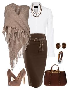 """""""Transition to Fall"""" by terry-tlc ❤ liked on Polyvore featuring Dsquared2, LE3NO, Guardaroba, Pour La Victoire, Fendi and Allurez"""