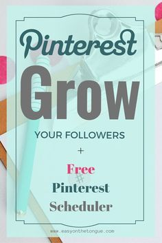 New at Pinterest? Not gaining any more followers? Learn how to gain more Pinterest followers at http://www.easyonthetongue.com