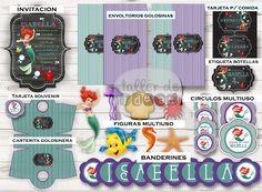 Cumpleaños Nro 4  de Isabella :  Diseño de Invitación, envoltorio para golosinas, figuras multiuso, Circulos multiusos ( para toppers, etiquetas p/ paletas y alfajores...), Banderines, tarjeta indicadora de comida, tarjeta para souvenir, carterita golosinera y etiquetas para botellas o gaseosas... Todo Súper Personalizado!!!                                Por consultas: contactodeltaller@gmail.com