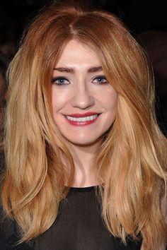 We quite like the subtly of Nicola Roberts dip dye hair