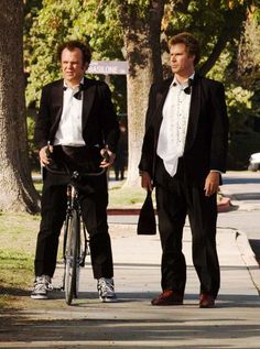John C. Reilly & Will Ferrell in Step Brothers