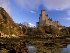 Dunvegan Castle, Restored 1840, Isle of Skye, Inner Hebrides, Highland Region, Scotland, UK by Patrick Dieudonne