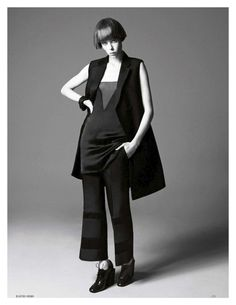 all about edie: edie campbell by david sims for uk vogue april 2013