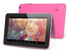 "9 Inch Android 4.4 Tablet 9"" Inch Android 4.4 Kitkat Tablet Pc MID (A23 Processor, Dual Core 1.5ghz, Wifi, 8gb, 512ddr3, Dual Camera, Supports Skype Video Chatting, Youtube, Google Play) Pink - Summary:  Operating System: Android 4.4 KitKat  Screen Size: 9 inches  Max Screen Resolution: 800 x 480 pixels  Processor: Allwinner A23 Dual Core processor  GPU: Mali-400 MP2 Quad core  RAM: 512MB  Hard Drive Capacity: 8GB NAND Fast Flash  Extend Card: Supports up to 32GB TF card  Dis"