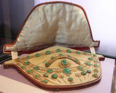 Another photo of Augusta of Bavaria's malachite parure