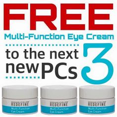 Sometimes a girl's gotta do what a girls gotta do! I have a goal which means YOU get FREE EYE CREAM!!!  ($60 value). Been wanting to try R+F?  Now is the time.... do our Solution Tool and find out which regimen is RIGHT FOR YOU:  https://jamyeperry.myrandf.com/Pages/OurProducts/GetAdvice/SolutionsTool  PLACE a PC ORDER... and get our EYE CREAM for FREE!!!