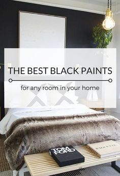 Today I'm sharing my top choices for the best black paint from Benjamin Moore and where to use these gorgeous shades in your home.