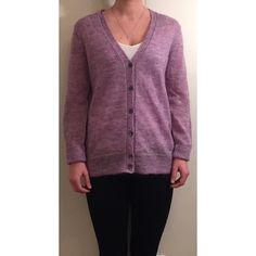 J. Crew Mohair Cardigan Sweater J. Crew lavender/violet cardigan. Loose fit hits slightly below hip. 50% kid mohair 50% polyamide. Worn once. Like new! J. Crew Sweaters Cardigans