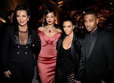 Kim Kardashian and Rihanna vamp up the glamour at Diamond Ball - 3am & Mirror Online