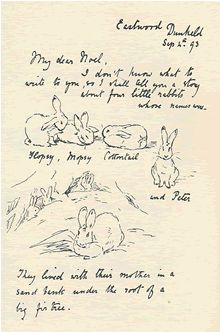 Peter Rabbit Sketches. www.beststoriesforchildren.com
