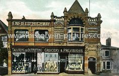 New Co-Operative Stores, Ordnance Road, Enfield Wash, Enfield, Middlesex. Ponders End, Enfield Middlesex, Vintage London, Pictures Of You, Street View, Mansions, History, House Styles, City