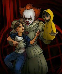 Georgie & Pennywise & Bill
