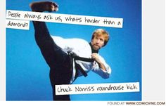 Diamond Nexus Blog: Chuck Norris IS harder than diamonds