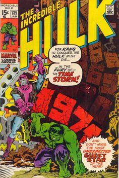 The Incredible Hulk Vol. 1 No. 135 - 1971 - Marvel Comics Comic Book by TheSamAntics on Etsy Marvel Comics Superheroes, Hq Marvel, Marvel Comic Books, Marvel Heroes, Comic Books Art, Comic Art, Marvel Characters, Captain Marvel, Book Art