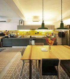 Une cuisine ultra design