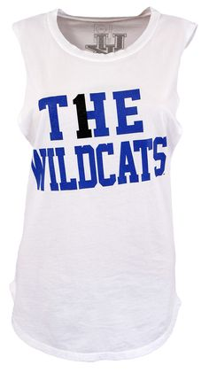 Kentucky Wildcat Ladies Muscle Tank