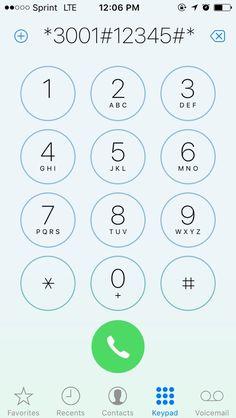 18 Best iPhone secret codes images in 2019   Iphone secrets, Helpful