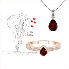 Color her RED this Valentines Day. Valentines Day, Nice Jewelry, Gemstones, Red, Jewellery, Accessories, Color, Fashion, Valantine Day