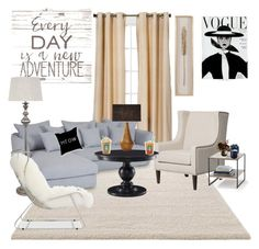 """Untitled #157"" by rowanstella on Polyvore featuring interior, interiors, interior design, home, home decor, interior decorating, Eclipse, ESPRIT, Abigail Ahern and Jonathan Adler"